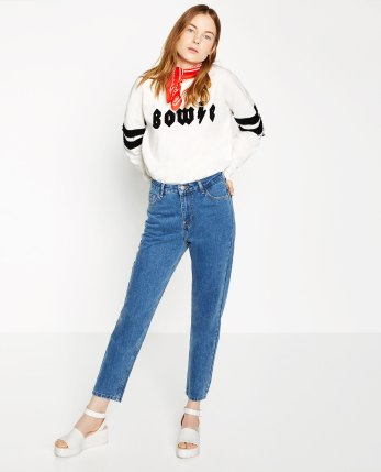 mom jeans zara french girl get the look