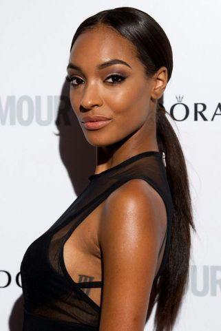 nude lips jourdan dunn beauty