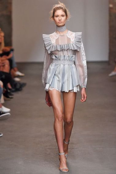 Zimmerman SS16 blouse and shorts