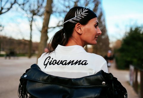 giovanna bat dress shirt street style
