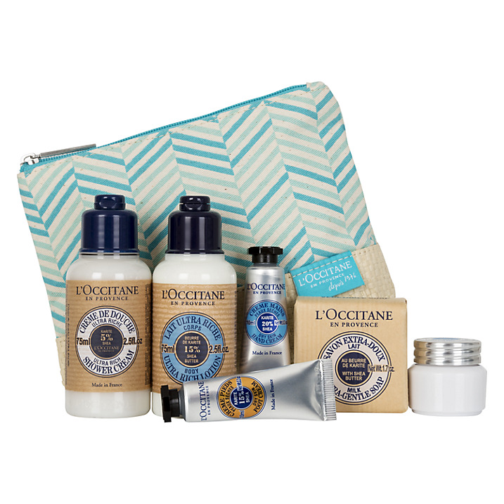 loccitane shea butter discovery set john lewis