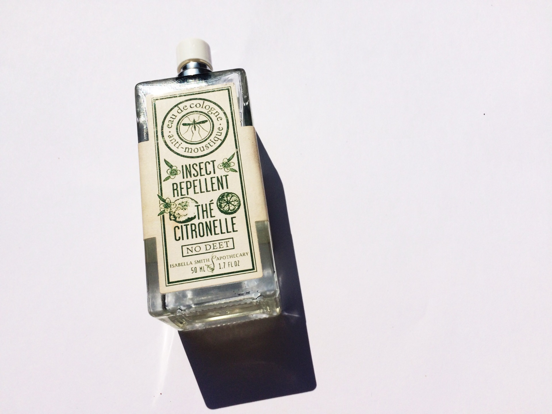 No Deet Insect Repellent Travel Perfume