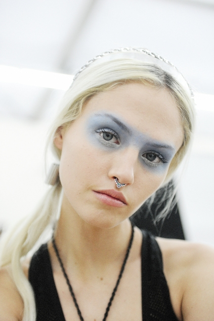 Chanel Blue eyes how to ss16