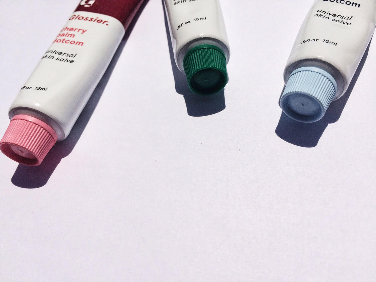 Introducing GLossier Lip Balms