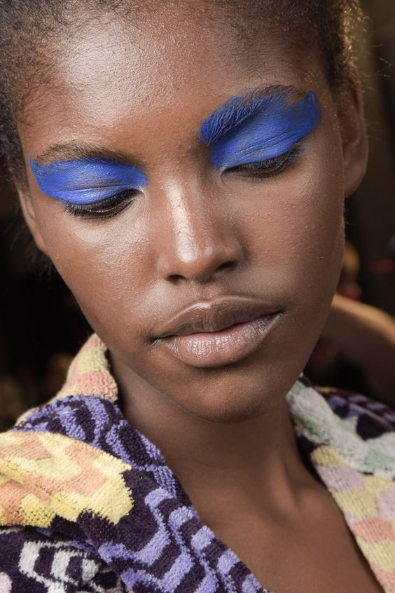 Missoni blue eyes ss16 get the look