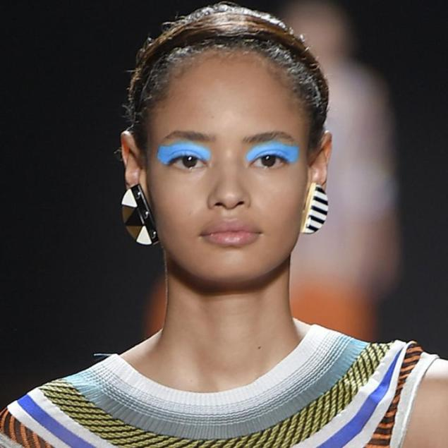 Missoni SS16 Blue eyes