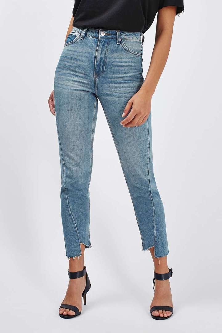 Thelma and Louise Topshop seam detail mom jeans