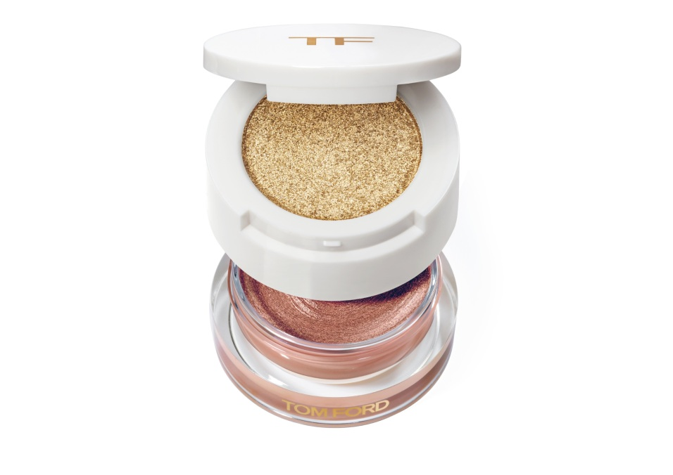 TOM FORD Summer Cream Shadow Eye Duo - Golden Peach