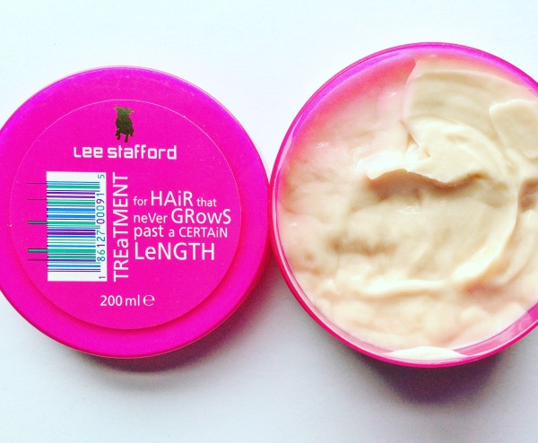 Blush review of lee stafford hair mask for hair that never grows 2