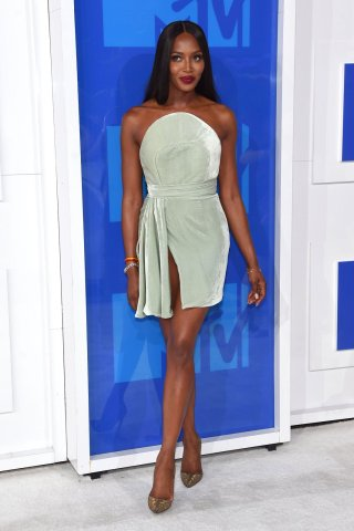 Naomi Campbell Vrandon Maxwell Dress VMAs