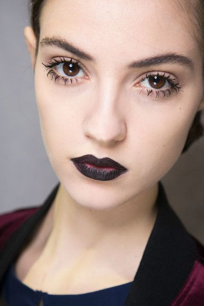 dior-dark-lip-and-clump-lashes