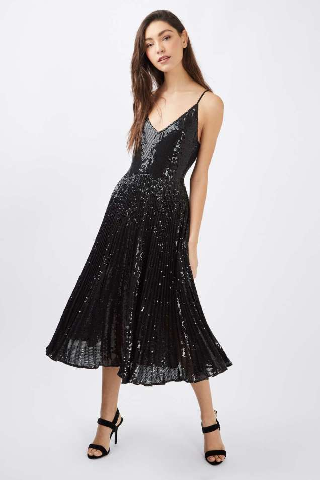 sequin-pleat-dress-lbd