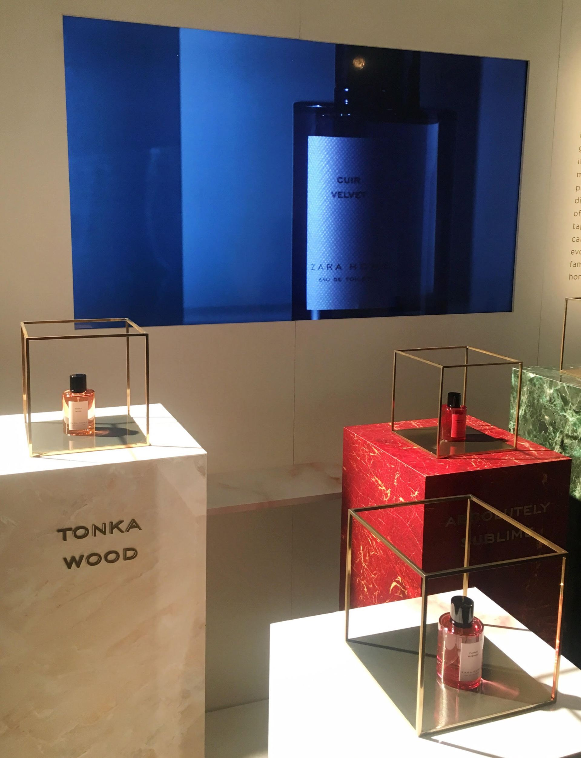 Exhibition Stand For Zara : Blush loves u2013 the zara home u2013 perfume collection