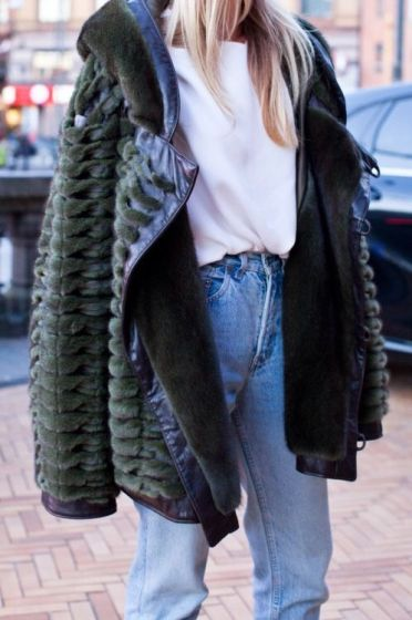 denim cosy outfits