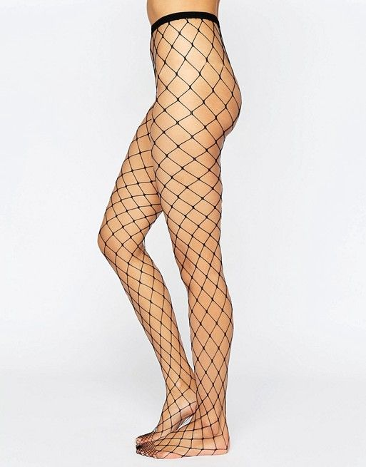 2 Pack Fishnet Tights ASOS