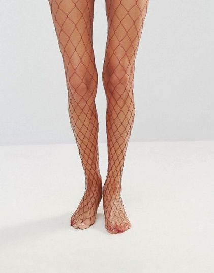 Falke Cayenne Coloured Fishnets