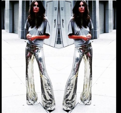 Festival bellbottoms Flares Sequin
