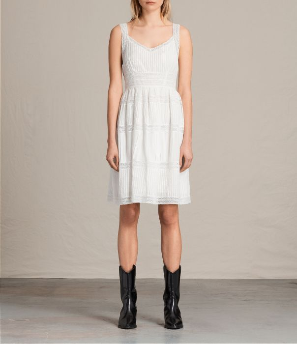 Pinto Dress All Saints Summer Dress White Broderie Anglaise
