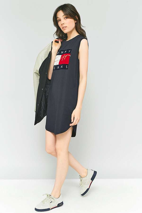 Tommy Hilfigher Muscle Tank Tshirt Dress
