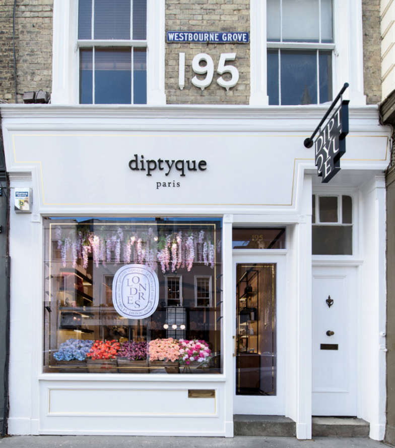 Diptyque westboure grove london notting hill