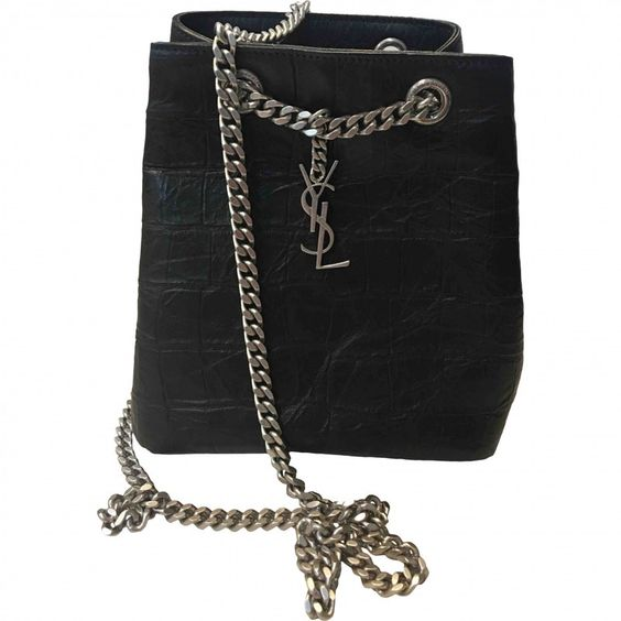 vintage YSL chain bucket bag mini