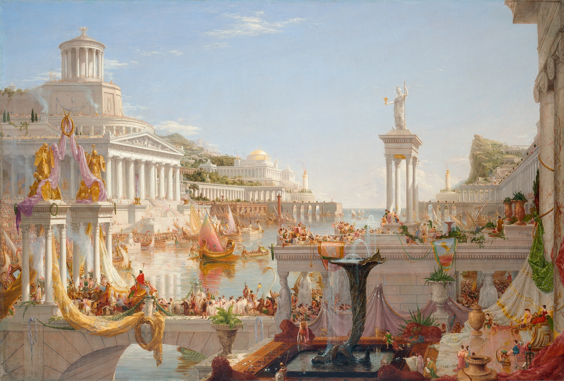 Thomas Cole (1801-1848) The Course of Empire: The Consummation o