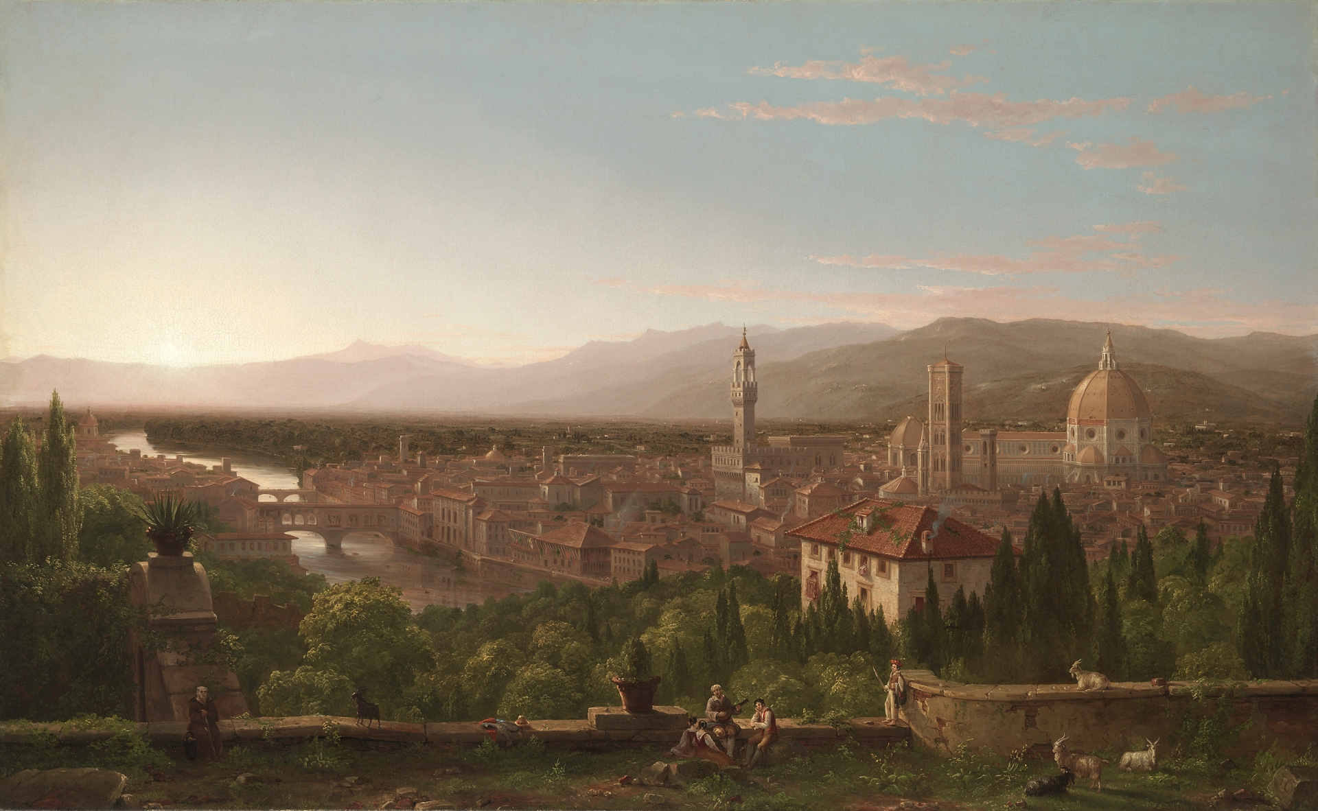 View of Florence, 1837