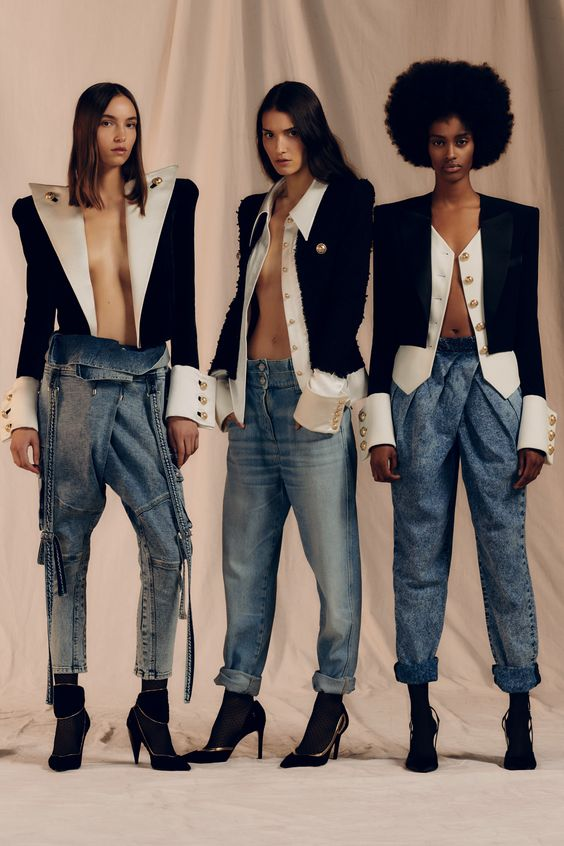 cadd1911304f Balmain Back With A Bang For Pre-Fall  19.