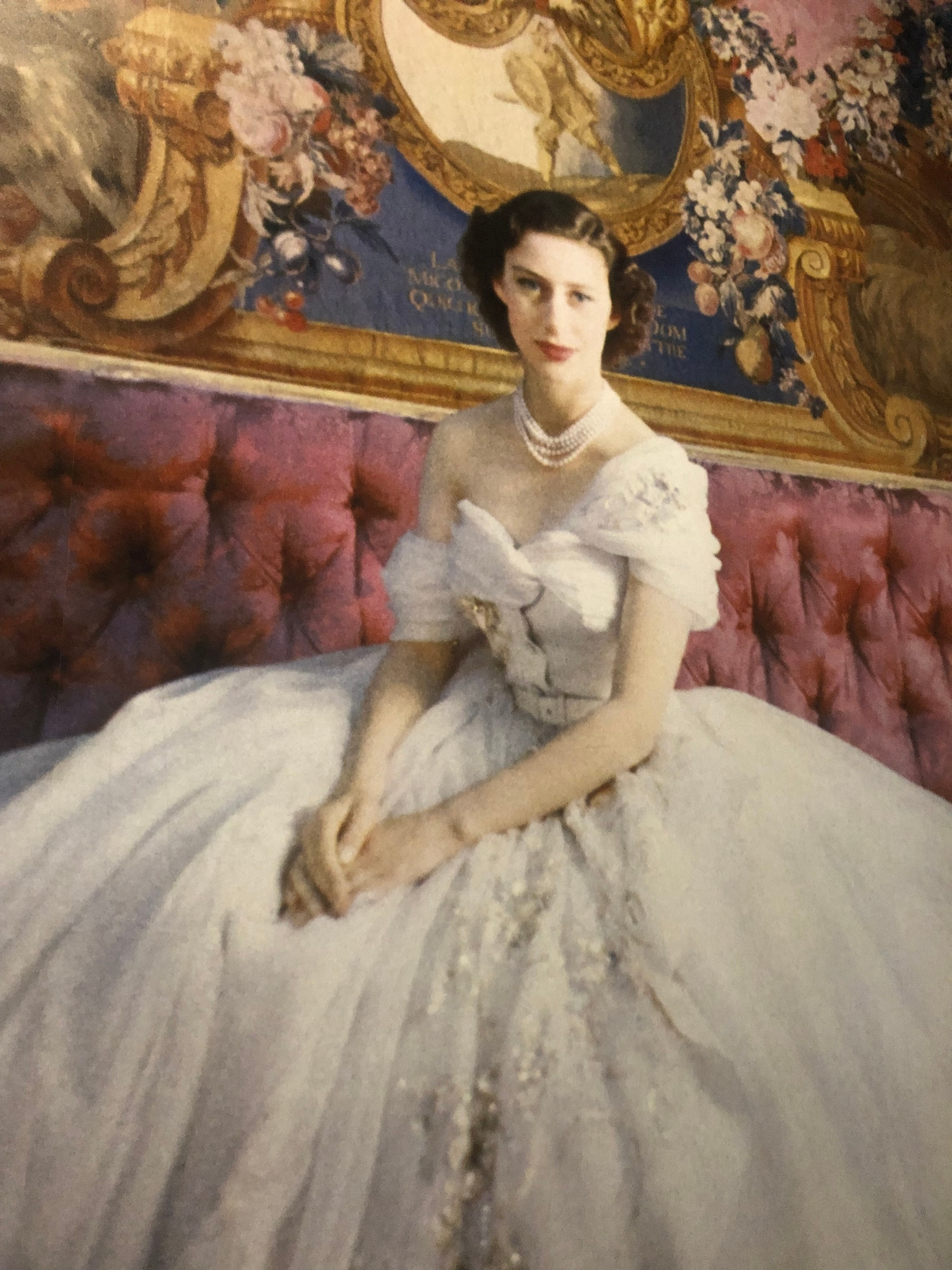 This image has an empty alt attribute; its file name is princess-margaret-dior-portrait.jpg