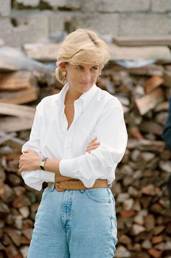 princess diana style - how to - get the look.