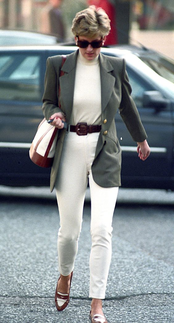 princess diana style - how to - get the look