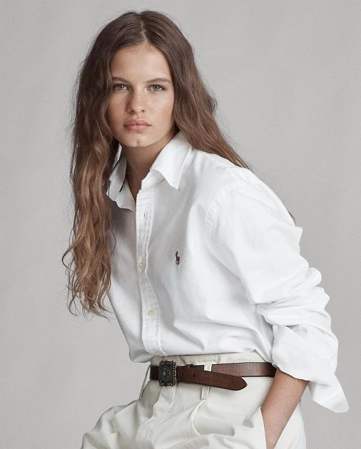 ralph lauren white shirt